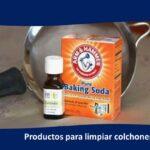 Producto para limpiar colchones en seco